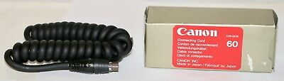 Canon Connecting Cord 60 - 60cm (2ft.) Coiled Flash Cord	New Old Stock