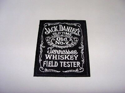 Whisky Jack Daniels Patch Ecusson Brode Thermocollant