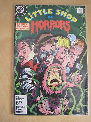 LITTLE SHOP of HORRORS, issue 1. ADAPTATION of the MOVIE by GENE COLAN. DC.1986
