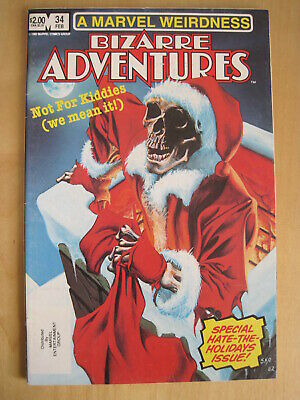 BIZARRE ADVENTURES issue 34. XMAS SPECIAL, HOWARD the DUCK by PAUL SMITH. 1983