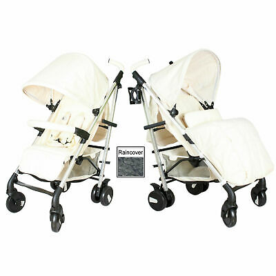 New My Babiie Mb51 Billy Faiers Cream Pushchair Stroller With Raincover