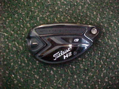 New Titleist 818 H2 19* Hybrid Head Only Surefit, Utility Rescue, In Shrink Wrap