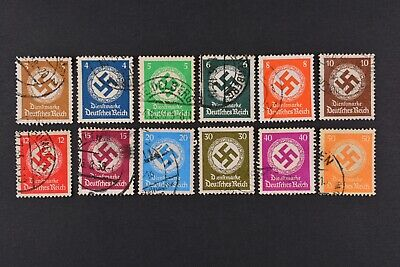 1934 Used German Stamps-Third Reich. Official Issues