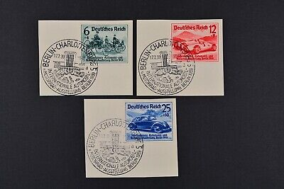 1939 Used German Stamps-Third Reich. Berlin Automobile and Motorcycle Exhibition