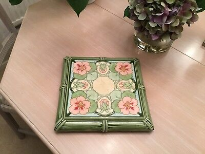 Early Antique HB&CIE Choisy-le-Roi Square Platter