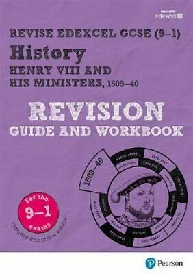 Revise Edexcel GCSE (9-1) History Henry VIII Revision Guide and... 9781292176390