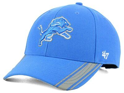 a3f89ca4 DETROIT LIONS 47 Brand Cap Adjustable Audible MVP Hat NFL NEW ...