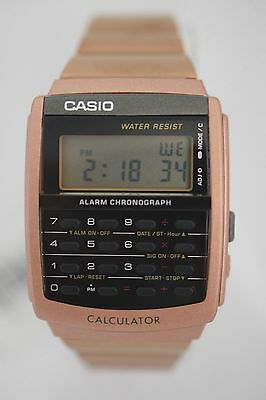 CASIO Watch CA506C-5A Men's Brown tone Retro 8 Digital Alarm Chrono Calculator
