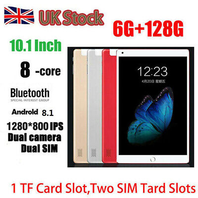 "10.1"" Inch Tablet PC Android 8.1 Ten Core Wifi 6GB+128GB Bluetooth4.0 Phone Call"