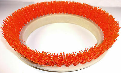 "Oreck Commercial 10.5""d Crimped Orange Polypropylene Orbiter Scrub Brush 237047"