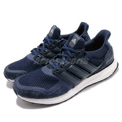 huge discount babd2 3d203 ADIDAS ULTRABOOST S L Navy White Gold Men Running Casual Shoes Sneakers  EF0725
