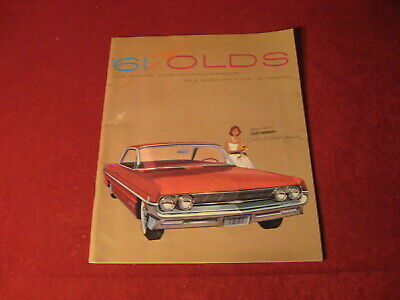 1961 Olds Large Prestige Dealership Sales Brochure Original Old Booklet Catalog
