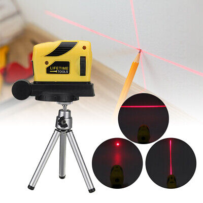 3D Laser Level Self Leveling Point/Line/Cross Horizontal Vertical With Tripod UK
