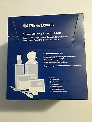Pitney Bowes Deluxe CK0-3 Cleaning Kit with Duster