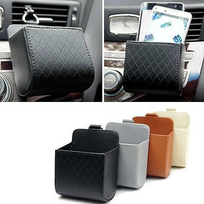 Car Seat Back Tidy Storage Coin Bag Case Organizer Holder Cell Phone Pouch YO