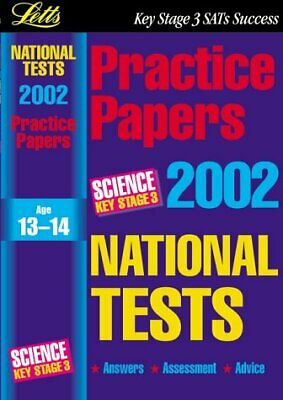 (Very Good)1858059550 National Test Practice Papers 2002: Science Key stage 3 (K