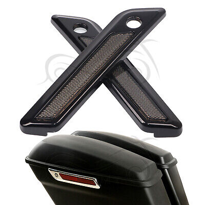 Side Mirrors & Accessories Automobiles & Motorcycles Motorcycle Saddlebag Hinge Black Latch Covers For Harley Electra Glide 2014-2018