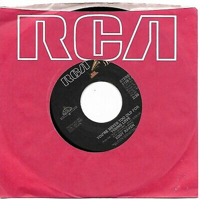 RAVEN, Eddy  (You're Never Too Old For Young Love)  RCA 5128-7