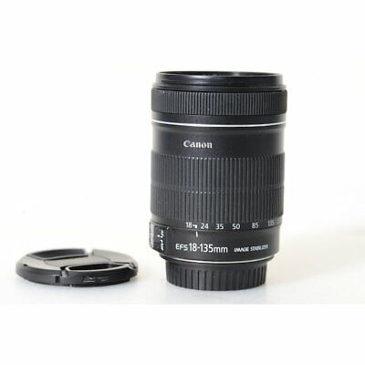 Canon EF-S 18-135mm F/3.5-5.6 Is Lente - EF-S 3,5 -5 , 6/18-135 Is