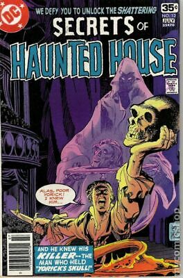 Secrets of Haunted House #12 1978 VG 4.0 Stock Image Low Grade
