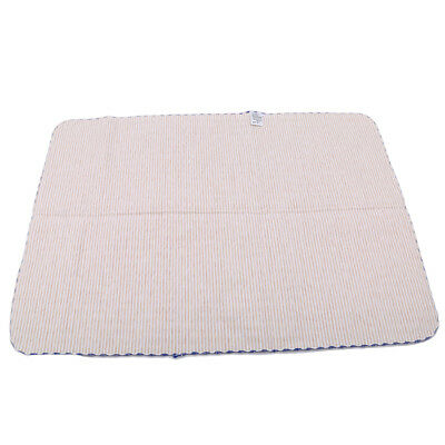 Baby Infant Cotton Striped Waterproof Urine Mat Cover Burp Diaper Change Pad LG