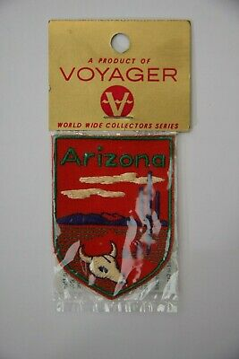 Ecusson Brode Embroidered Patch Arizona  Voyager Emblems Enveloppe Originale
