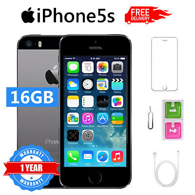 Iphone 5S Ricondizionato 16Gb Grado B Nero Grey Originale Apple Rigenerato
