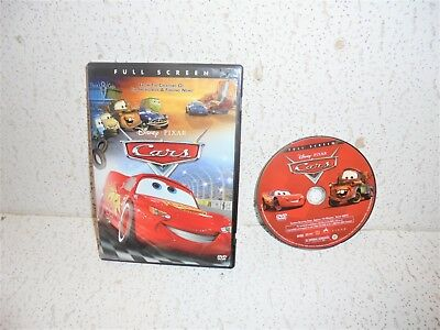 Cars DVD 2006 Full Frame