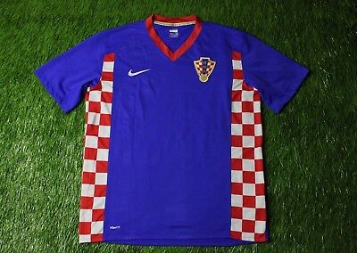 566e93aeebf Croatia National Team 2007 2009 Football Shirt Jersey Away Nike Original  Size L