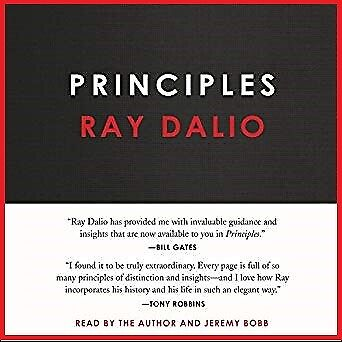 Principles: Life and Work by Ray Dalio (audio book, e-Delivery)