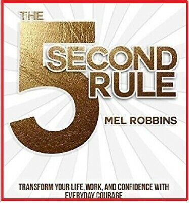 The 5 second rule Transform your life ... by Mel Robbins (audio book, e-Delivery