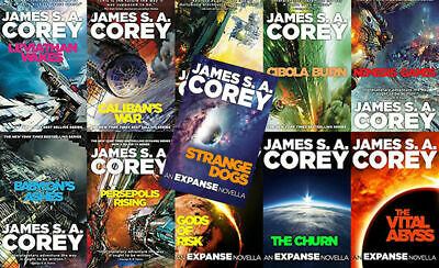 The Expanse Books 1-6 + Shorts Chapterized - James S.A. Corey(AUDIOB00K)