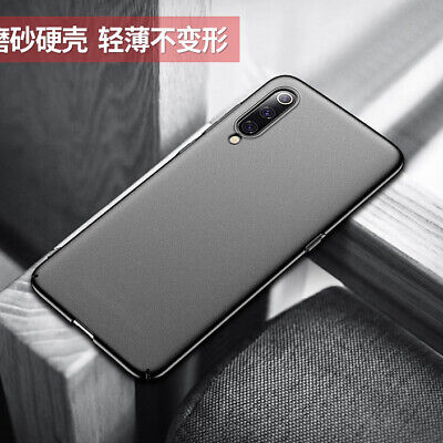 For Xiaomi Mi 9 SE 8 Lite Luxury Ultra Thin Matte TPU Frosted Back Cover Case