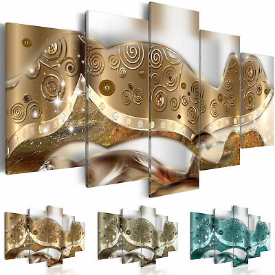 Non-woven Canvas Print Abstract Framed Wall Art Picture Photo Image a-A-0256-b-n
