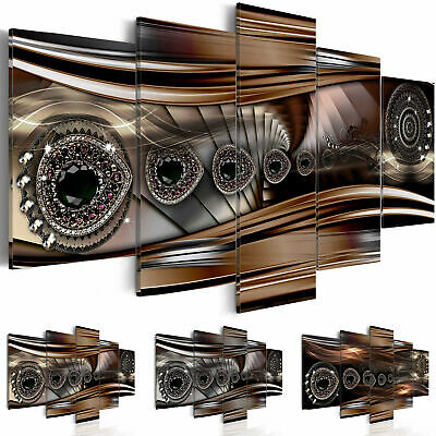 Non-woven Canvas Print Abstract Framed Wall Art Picture Photo Image a-A-0070-b-n