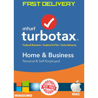 Turbotax 2018 Home & Business Edition for Windows and Mac OS - Crazy Sales