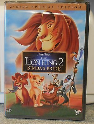 The Lion King 2: Simba's Pride (DVD 2004 2-Disc) RARE BRAND NEW W BUENA STAMP