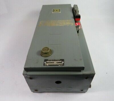 Square D 8538-SCG-14 Non-Reversing Combination Starter 30A 3Pole ! WOW !