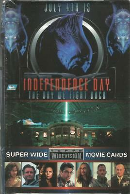 Independence Day [ ID4 ] Sealed Box of Trading Cards from Topps 1996