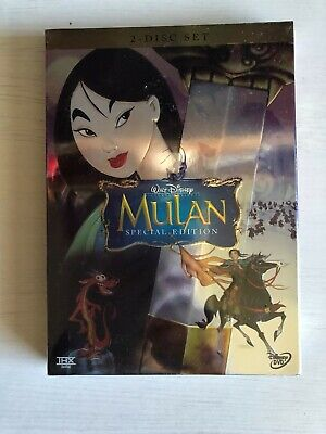 Mulan (DVD, 2-Disc Set, Special Edition) Brand New + Free Shipping!