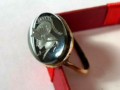 Offer Ends...detector Find&polished,200-400 A.d,roman Seal/stone Intaglio Ring