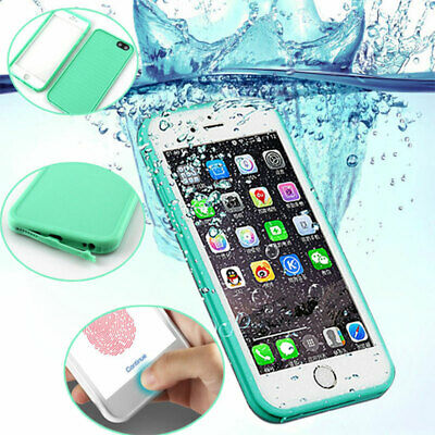 360° Waterproof Dustproof Rubber Phone Case Cover For iPhone X XR XS Max 8 Plus