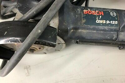 Bosch Professional Grinder GWS 9-125 In Used Condition