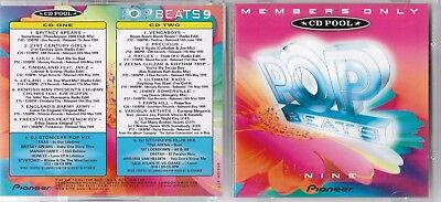 Pop Beats CD Pool 2 x CD Album V/A Britney Spears Mariah Carey Tina Arena etc