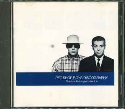 "PET SHOP BOYS ""Discography - The Complete Singles Collection"" Best Of CD"