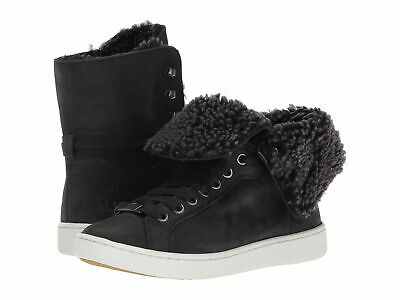 174b83b2aee NEW WOMENS UGG® BLACK STARLYN LEATHER BOOTS ANKLE - $158.95 | PicClick