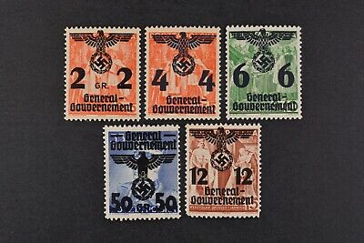 1940 MNH** German Occupation Stamps- Poland. General Government.