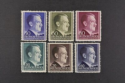 1942 MNH** German Occupation Stamps- Poland. General Government. A.Hitler
