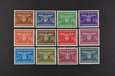1943 MNH** German Occupation Stamps- Poland. General Government.
