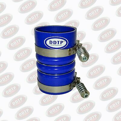 """Silicone Hose 4"""" X 6.5"""" Cold Intake Charge Air Cooler With Clamps (Freightliner)"""